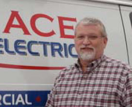 Don Ogle, Owner of Ace Electric Service Company